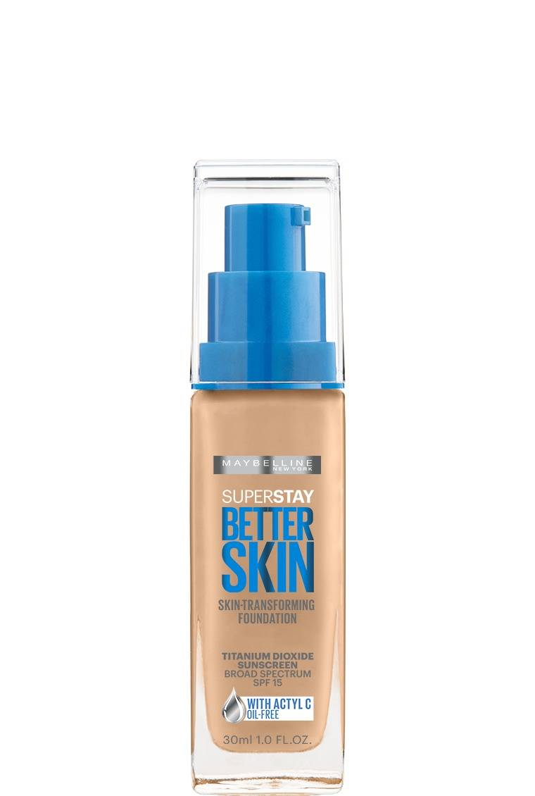 Liquid Flawless Foundation: Superstay Better Skin - Maybelline